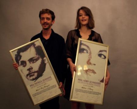Prix Romy Schneider & Patrick Dewaere 2018 : Adeline d'Hermy & Nahuel Perez Biscayart sont les deux lauréats